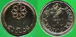 1 Escudo Coin.
