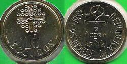 10 Escudos Coin.