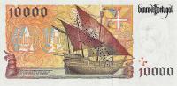 10000 Escudos banknote - back side.