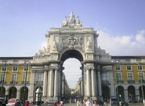 Lisbon Triumph Arch.