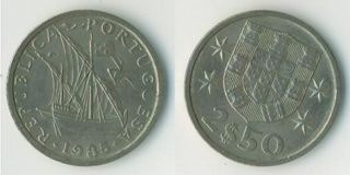 Lisbon Former Coin - the Escudo.