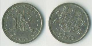 Lisbon Former Coin - the Escudo.