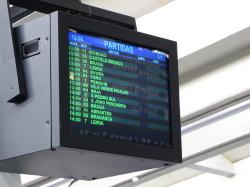 Sete Rios Bus Terminal Screen.