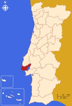 Grande Lisboa Map.