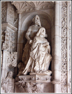 Jeronimos King Manuel.