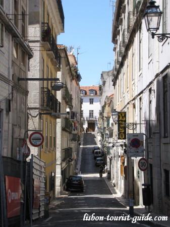 Lisbon Bairro Alto.