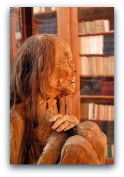 Lisbon Carmo Museum Peruvian Mummy.