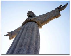 Lisbon Christ King Monument.