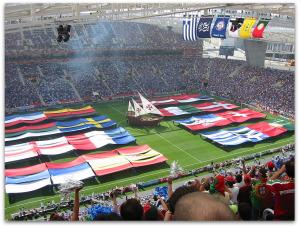 Lisbon Euro2004 Opening Ceremony.