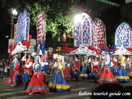 Grandes días de fiestas en Lisboa