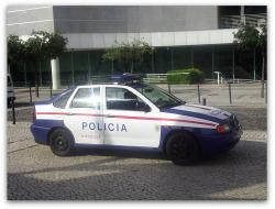 Lisbon Police Car.