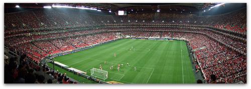 Lisbon Stadium of Luz Benfica.