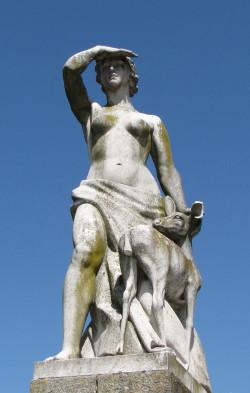 Parque Eduardo VII Statue.