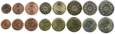 Portuguese Coins.