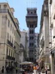 Lisbon Santa Justa Elevator.