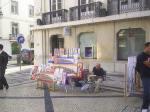 Lisbon Augusta Street Artist.