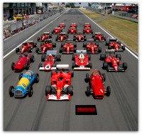 Formula One Lineup.