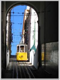 Lisbon Funicular.