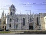 Lisbon Jeronimos Monastery.