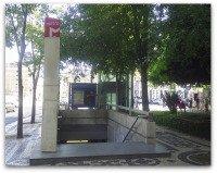 Lisbon Metro Entrance.