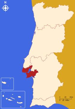 Lisbon Metropolitan Area.