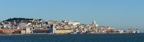 Lisbon Panoramic View.