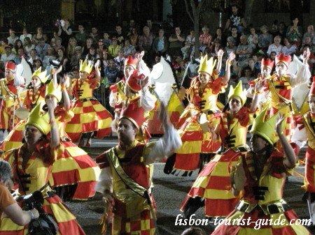 Lisbon Popular Parade.