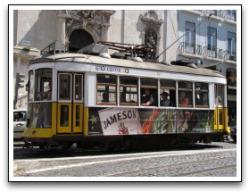 Lisbon Tram - Eléctrico de Lisboa.