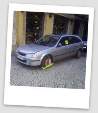 Wrong Parking in Lisbon.
