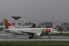 Lisbon Airport Plane.